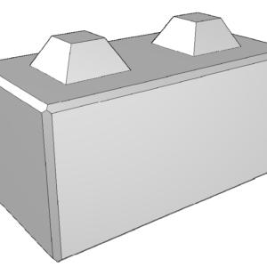 betonblok 250KG